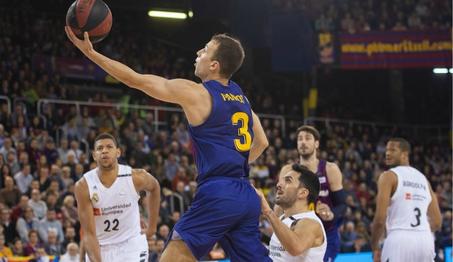 El Barcelona Lassa se impone con superioridad al Real Madrid y es líder