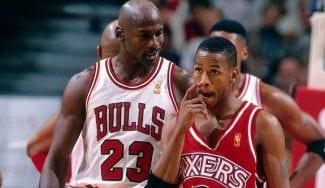 Allen Iverson da su mejor quinteto de la historia y se rinde a Jordan