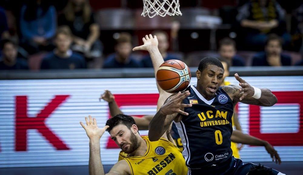 El UCAM Murcia sufre su primera derrota en la Basketball Champions League