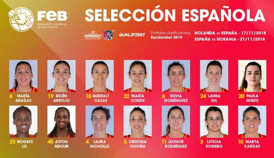 La selección femenina vuelva a la carga para clasificarse para el Eurobasket