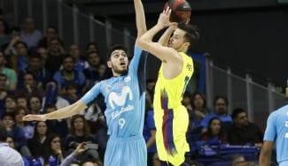 El Barcelona Lassa vence con su mejor tridente al Movistar Estudiantes