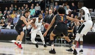 El Valencia Basket no puede llevarse la victoria en la cancha del Asvel