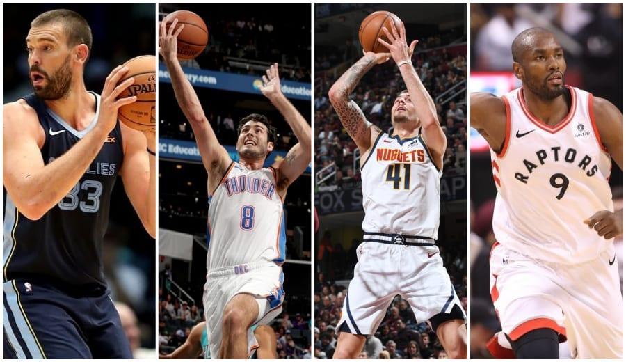 La noche española NBA: Marc Gasol roza el triple-doble, Ibaka sigue en forma