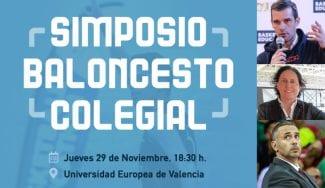 El tercer simposio baloncesto colegial llega a Valencia