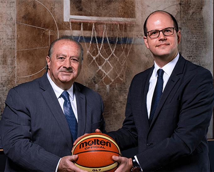 La FIBA nombra un nuevo secretario general: el griego Andreas Zagklis