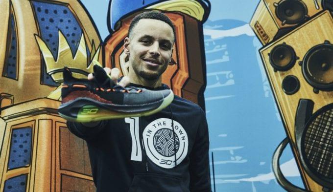 Stephen Curry tiene un nuevo aliado: las Under Armour Curry 6