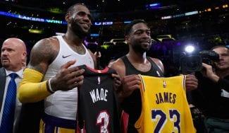 El emotivo cara a cara final entre LeBron James y Dwyane Wade