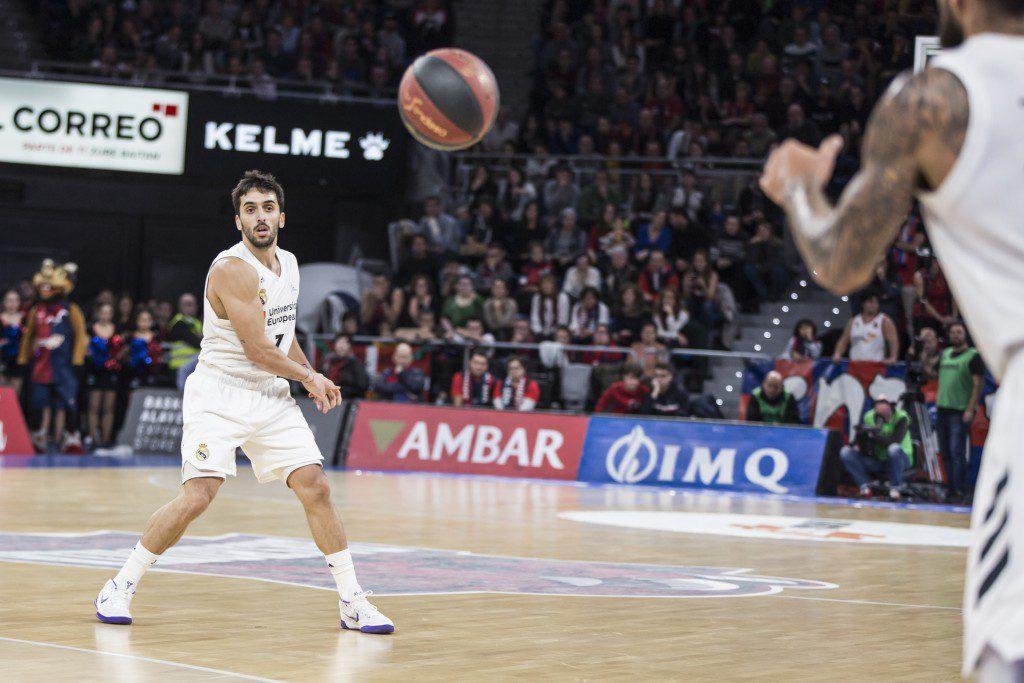 Recital del Real Madrid ante el Kirolbet Baskonia en un duelo de récord