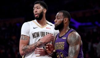 LeBron James podría ser sancionado por cenar con Anthony Davis