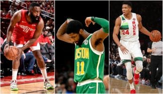 Antetokounmpo, Kyrie y Harden, grandes protagonistas de la Navidad NBA