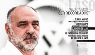 Cinco titulares de la entrevista a Pablo Laso de la Gigantes de este mes