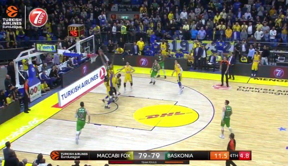 Poirier sella la victoria del Baskonia en Tel Aviv con un matazo decisivo