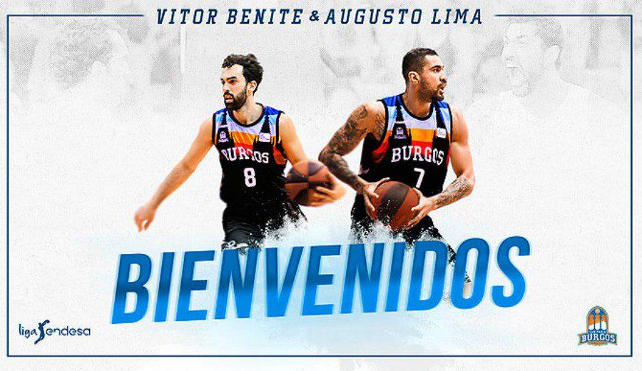 El San Pablo Burgos se refuerza con Augusto Lima y Vítor Benite