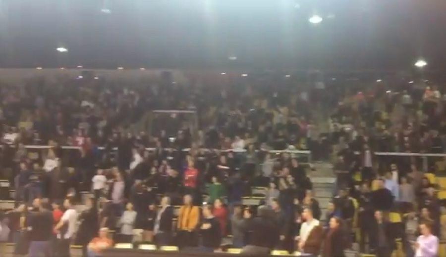 El Estrasburgo-Olimpia, afectado por un atentado: así reaccionó el público