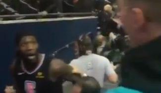 Harrell se encara con un aficionado tras un partido: «Cuida esa boca»