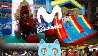 Fiesta Infantil de Navidad de Movistar Estudiantes