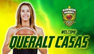 Así ha sido el debut de Queralt Casas con su nuevo club, el Sopron húngaro