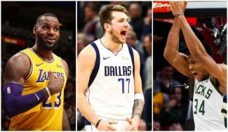 Luka Doncic, tercer jugador más votado de toda la NBA para el All-Star