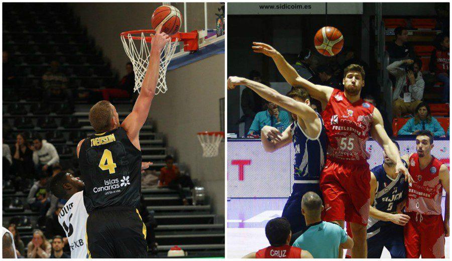 Iberostar Tenerife y Montakit Fuenlabrada, cara y cruz en la Basketball Champions League