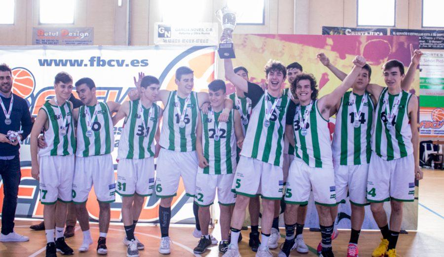 Valcomaq CNB Xàtiva se lleva la Copa Junior Masculino Preferente