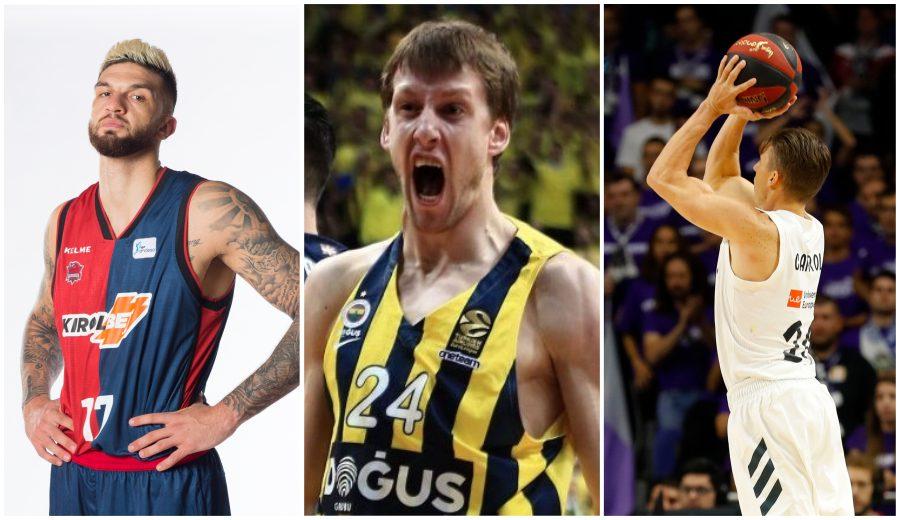 Los mejores de la Euroliga para sus GM: Vesely, MVP; Carroll, Poirier, destacados