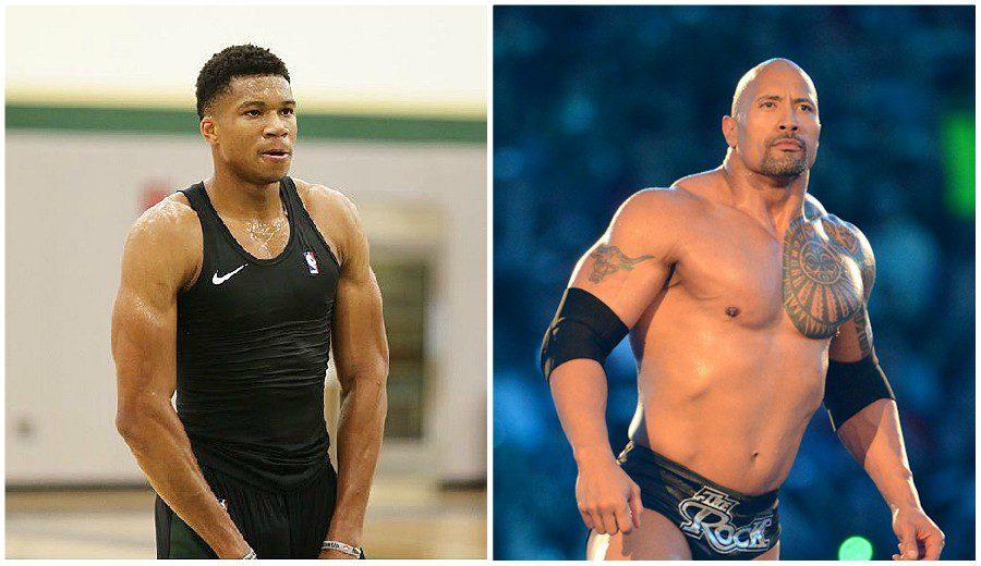 Antetokounmpo y un mito de la WWE se retan en las redes sociales