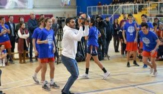 Presentación nacional de la Copa Colegial 2019 con Reyes y Campazzo