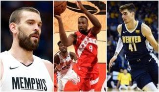 La noche española en la NBA: dobles-dobles de Marc Gasol y Serge Ibaka