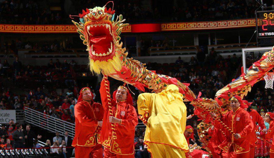 La NBA celebra el Año Nuevo Chino