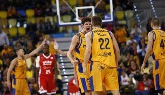 El Gran Canaria consigue el mejor cuarto en ataque de su historia