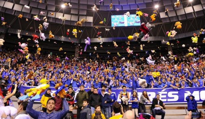 San Pablo Burgos repite Premio Gigantes a la Mejor Afición