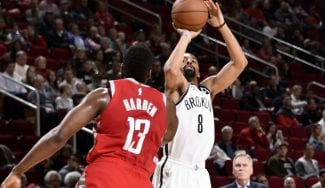 Victoria histórica de los Brooklyn Nets ante los Houston Rockets