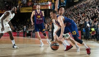 El Barcelona Lassa se hace fuerte en la pintura ante el Panathinaikos
