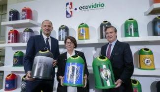 La NBA y Ecovidrio se alían por el medio ambiente y el baloncesto