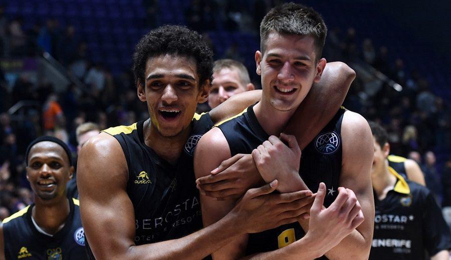 Brussino marca el camino en la décima victoria del Tenerife en la Champions