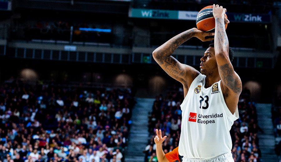 Baja en el Madrid: Trey Thompkins, casi descartado para la Copa ACB