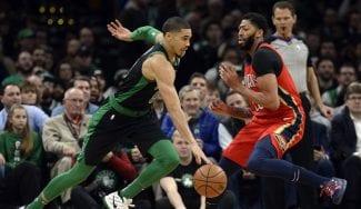 Los Pelicans salivan con un traspaso con los Celtics por Davis: «Todos están disponibles»
