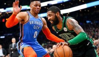 Kyrie Irving lidera la victoria de los Celtics ante Oklahoma City