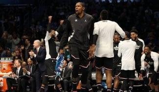 El equipo de LeBron James remonta otra vez y gana el All-Star; Durant, MVP