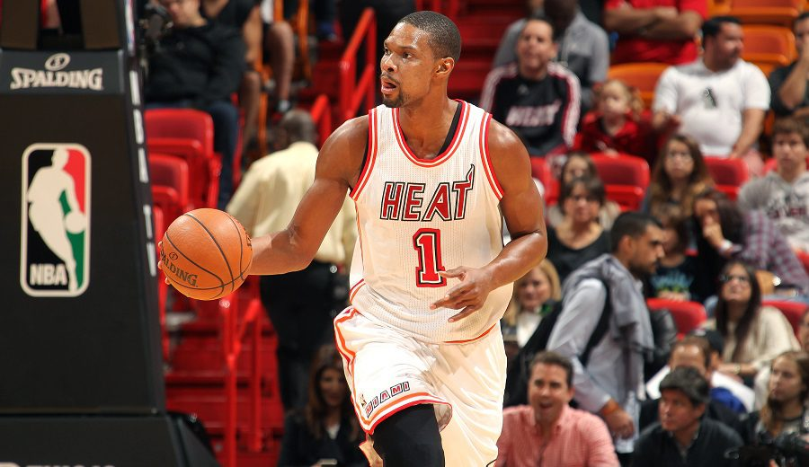 Los Heat anuncian que retirarán la camiseta de Chris Bosh