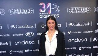 Raquel Carrera, madrina de oro en uno de los equipos de cantera del Celta