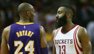 Cruce de declaraciones entre Kobe Bryant y James Harden