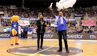 El San Pablo Burgos recibe el premio GIGANTES a la mejor afición