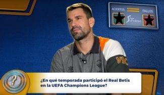 ¿Cuánto sabe Rafa Martínez de su equipo de fútbol, el Real Betis Balompié?