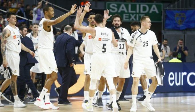 Los jugadores del Madrid tratan de calmar las aguas: Llull, Thompkins, Rudy…