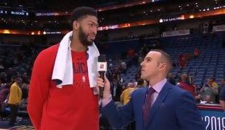 La afición de los Pelicans abuchea a Anthony Davis tras pedir el traspaso