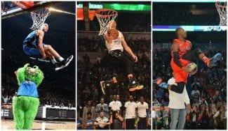 Los diez mejores mates de la última década en el Slam Dunk Contest