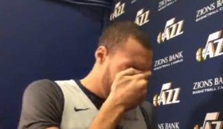Rudy Gobert se echa a llorar por no ir al All-Star y carga contra la NBA