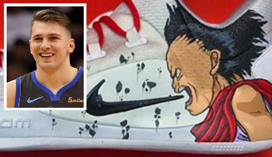 Luka Doncic rinde homenaje a la película Akira en sus zapatillas