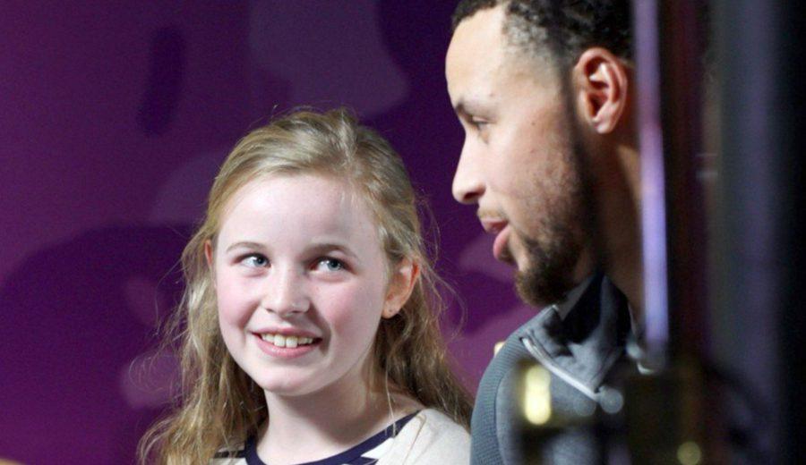 Riley Morrison, la niña de 9 años que inspiró a Stephen Curry